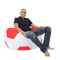 XXL futbalová lopta (červeno - biela)