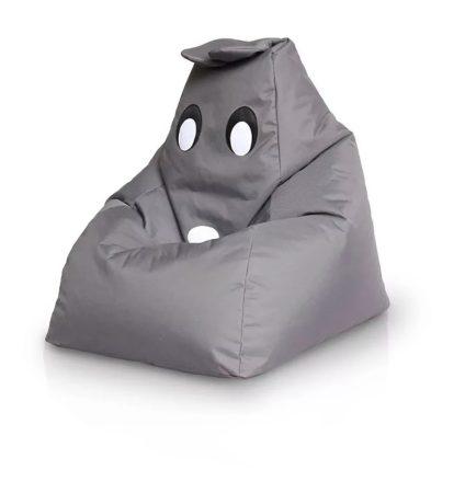 Detský sedací vak kamarát BUNNY(sivý)