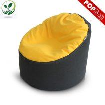 Detský sedací vak (žlto-čierny)