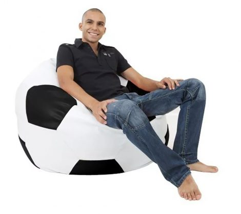 XXL futbalová lopta (čierno - biela)