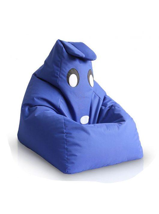 Detský sedací vak kamarát BUNNYl (Royal Blue)