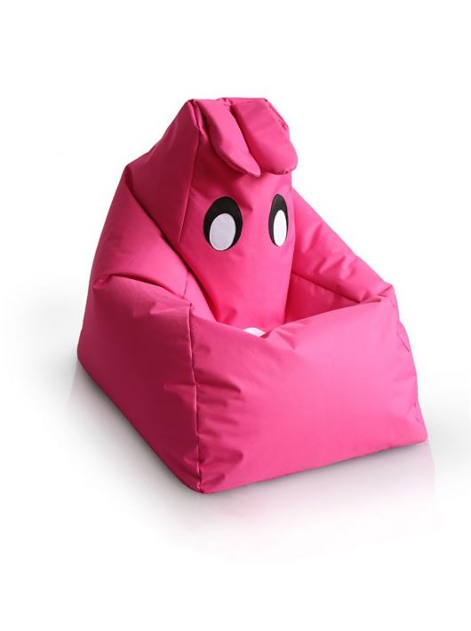 Detský sedací vak kamarát BUNNY(ružový)